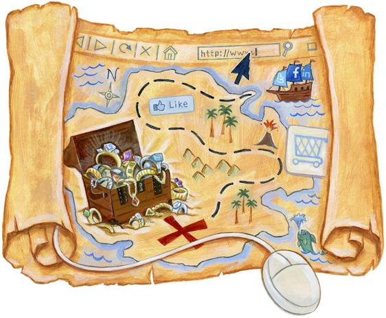 Sean-Kane-Social-Media-Treasure-Map